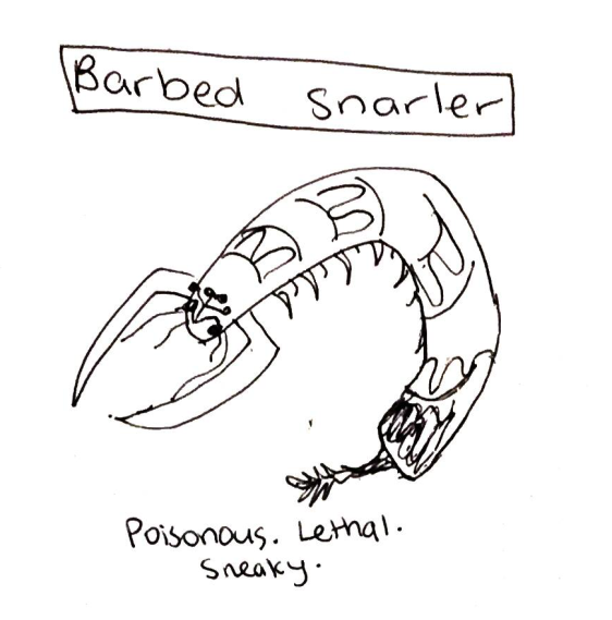 barbed snarler